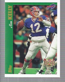 2001 Topps Archives #113 Jim Kelly 97