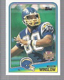 2001 Topps Archives #139 Kellen Winslow 88