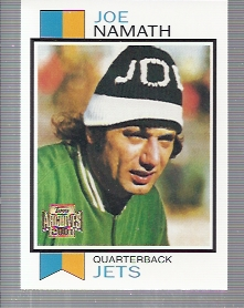 2001 Topps Archives #140 Joe Namath 73
