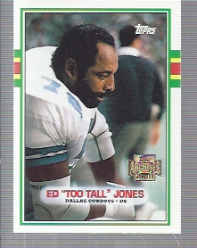 2001 Topps Archives #151 Ed Too Tall Jones 89