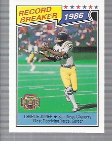 2001 Topps Archives #157 Charlie Joiner 87