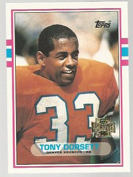 2001 Topps Archives #158 Tony Dorsett 89