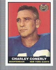 2001 Topps Archives #160 Charley Conerly 61