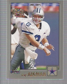 2001 Topps Archives #166 Troy Aikman 01