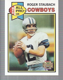 2001 Topps Archives #167 Roger Staubach 79