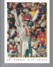 2001 Topps Archives #178 Joe Montana 95 front image