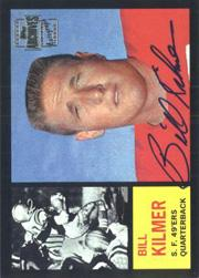 2001 Topps Archives Rookie Reprint Autographs #AABK Billy Kilmer