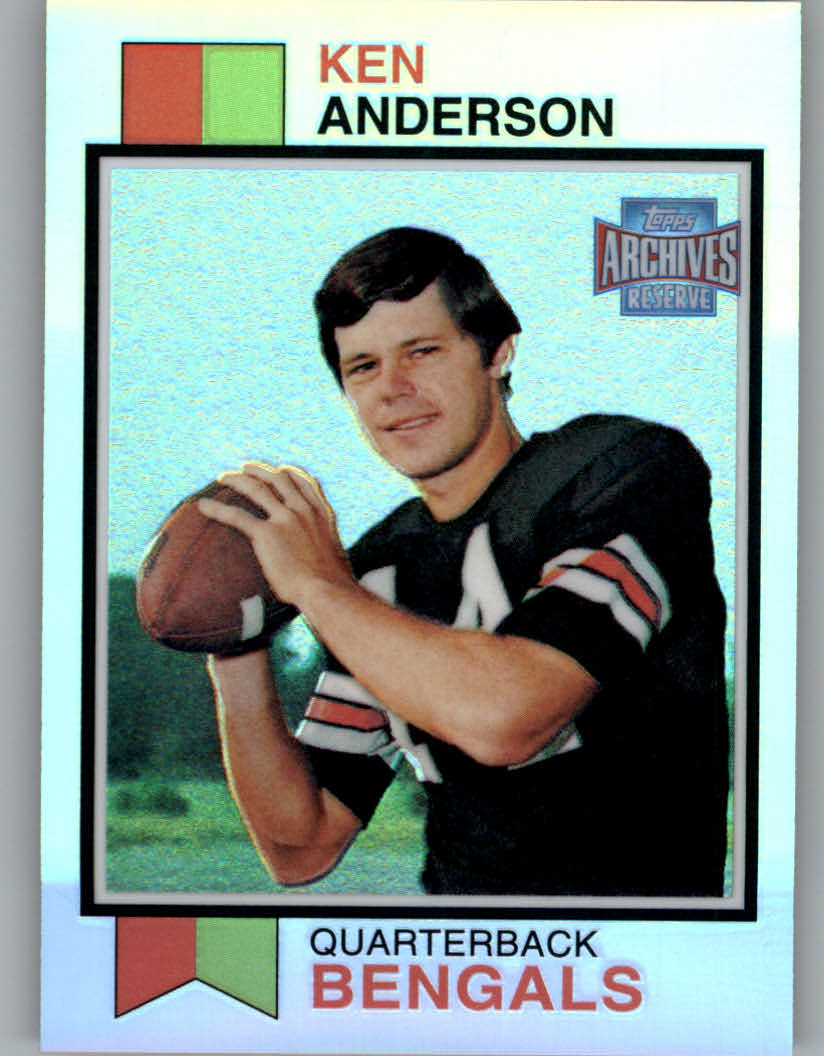 2001 Topps Archives Reserve #48 Ken Anderson 73