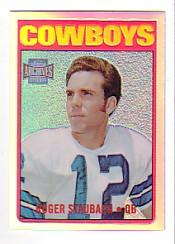 2001 Topps Archives Reserve #66 Roger Staubach 72 front image