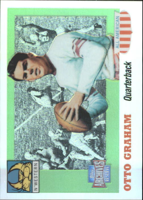 2001 Topps Archives Reserve #90 Otto Graham 55