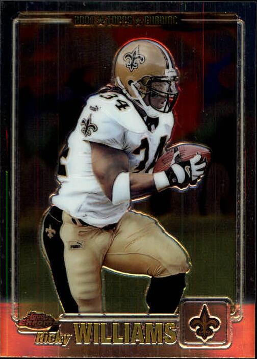 2001 Topps Chrome #18 Ricky Williams