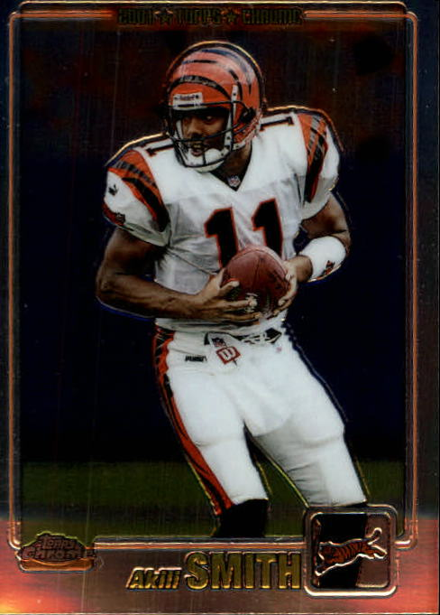 2001 Topps Chrome #90 Akili Smith