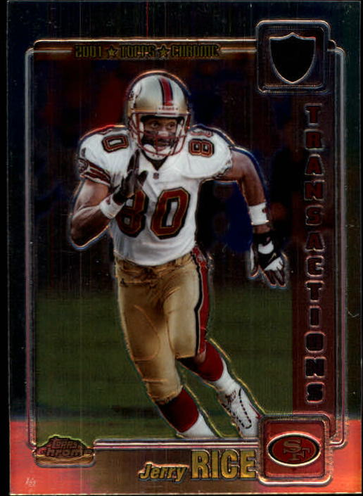 2001 Topps Chrome #136 Jerry Rice