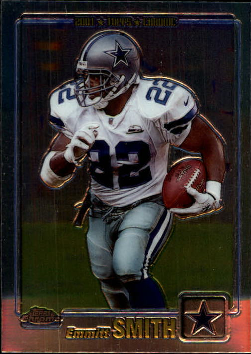 2001 Topps Chrome #145 Emmitt Smith
