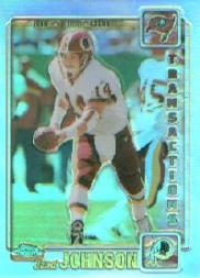 2001 Topps Chrome Refractors #126 Brad Johnson