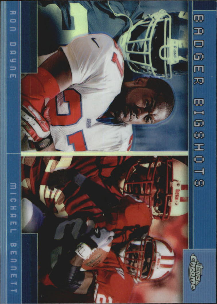 2001 Topps Chrome Combos #TC14 Ron Dayne/Michael Bennett