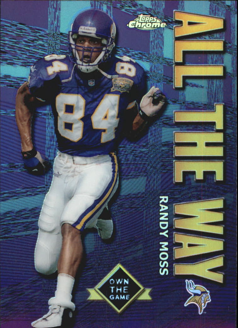 2001 Topps Chrome Own the Game #AW5 Randy Moss