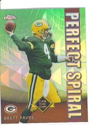 2001 Topps Chrome Own the Game #PS5 Brett Favre
