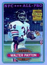 2001 Topps Chrome Walter Payton Reprints Refractors #WP5 Walter Payton 1980