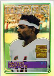 2001 Topps Chrome Walter Payton Reprints Refractors #WP8 Walter Payton 1983