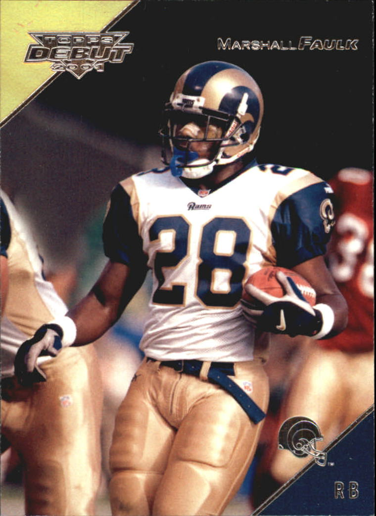 2001 Topps Debut #1 Marshall Faulk