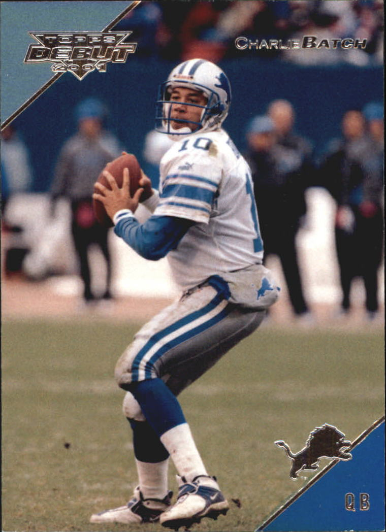 2001 Topps Debut #9 Charlie Batch