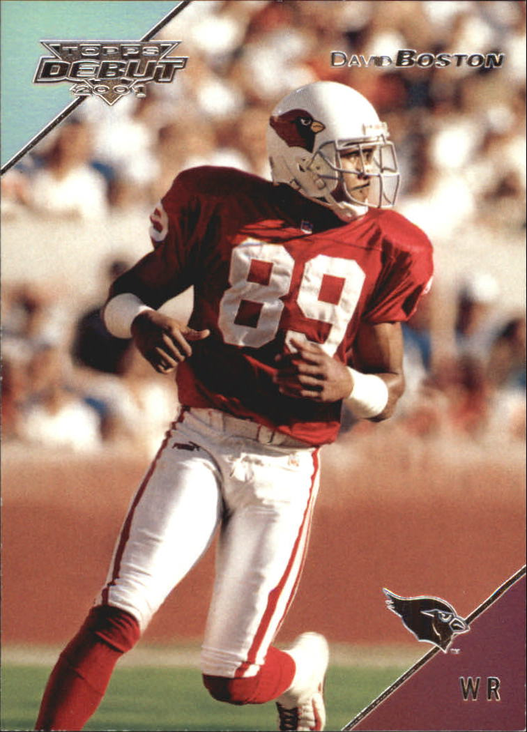 2001 Topps Debut #10 David Boston