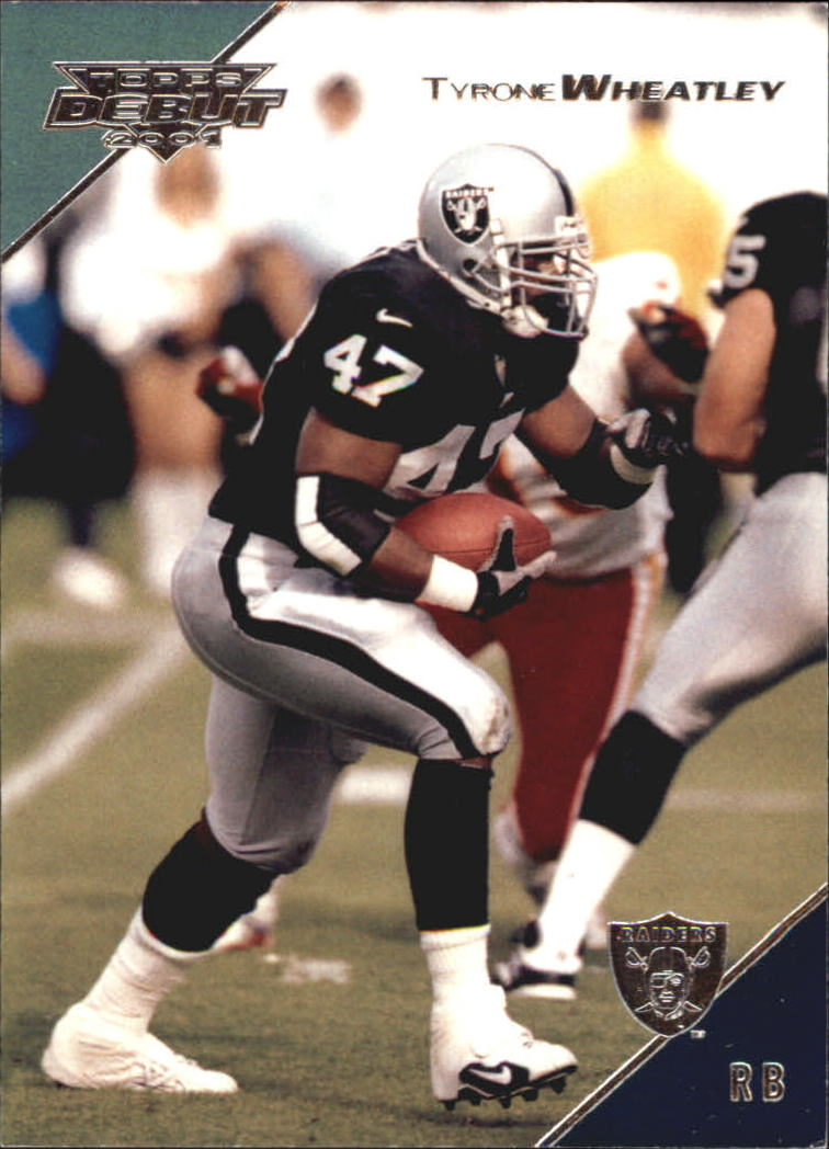 2001 Topps Debut #17 Tyrone Wheatley