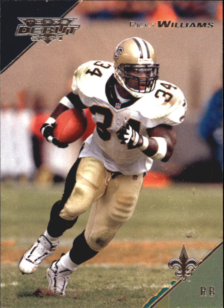 2001 Topps Debut #25 Ricky Williams