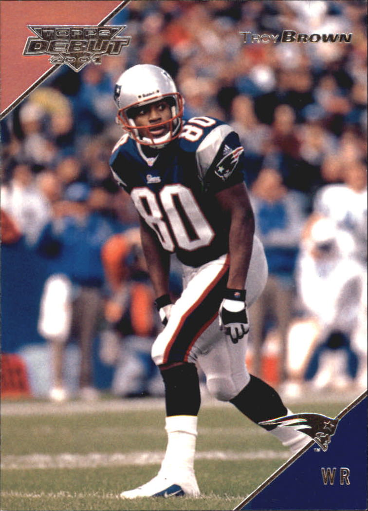 2001 Topps Debut #27 Troy Brown