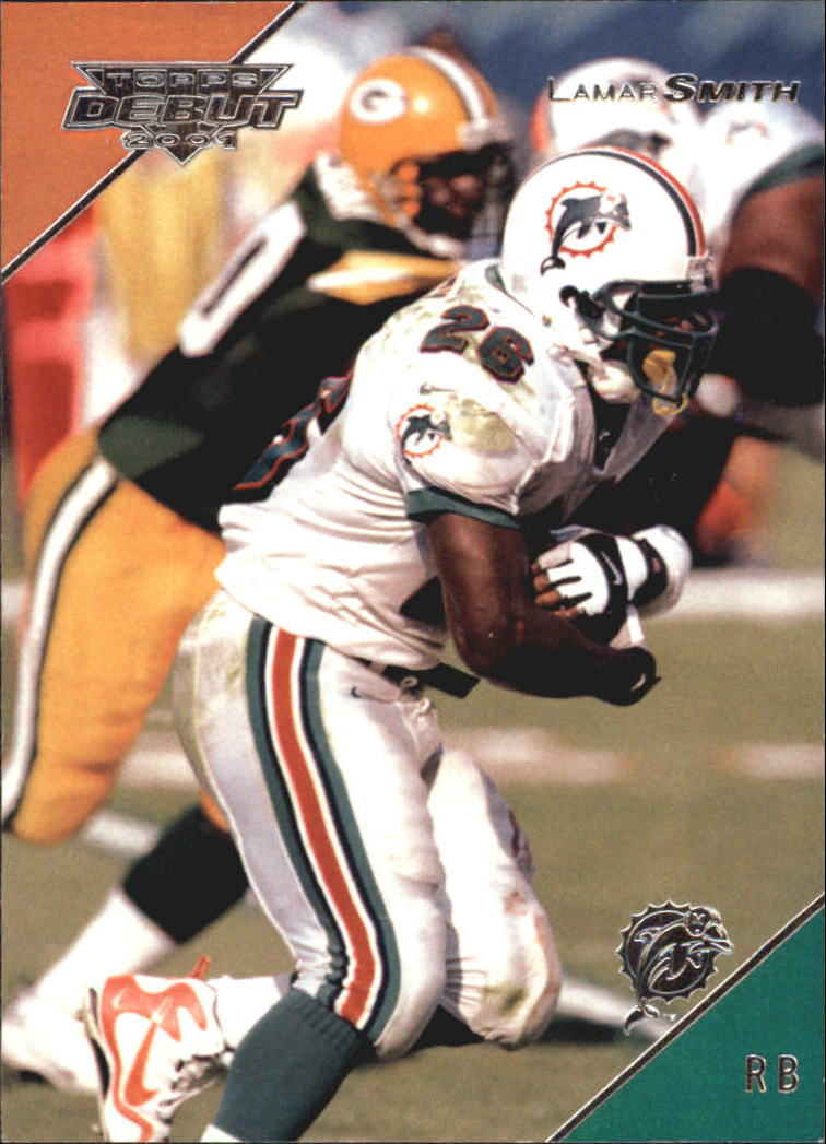 2001 Topps Debut #30 Lamar Smith