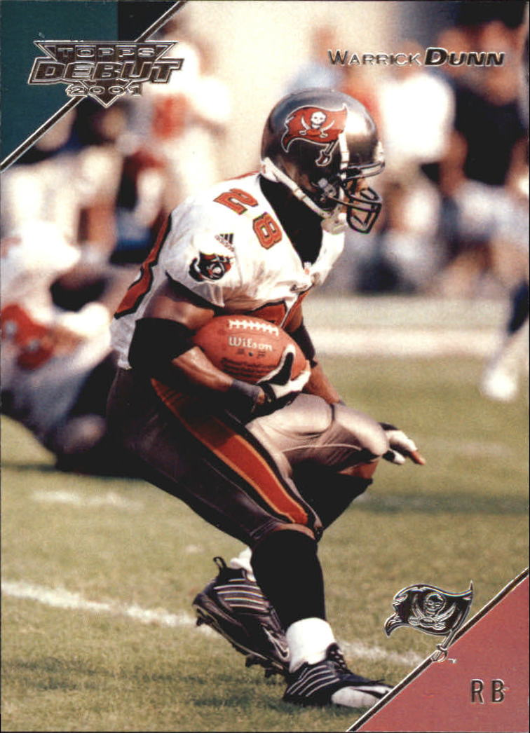 2001 Topps Debut #52 Warrick Dunn
