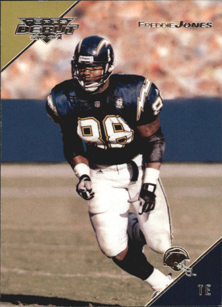 2001 Topps Debut #57 Freddie Jones