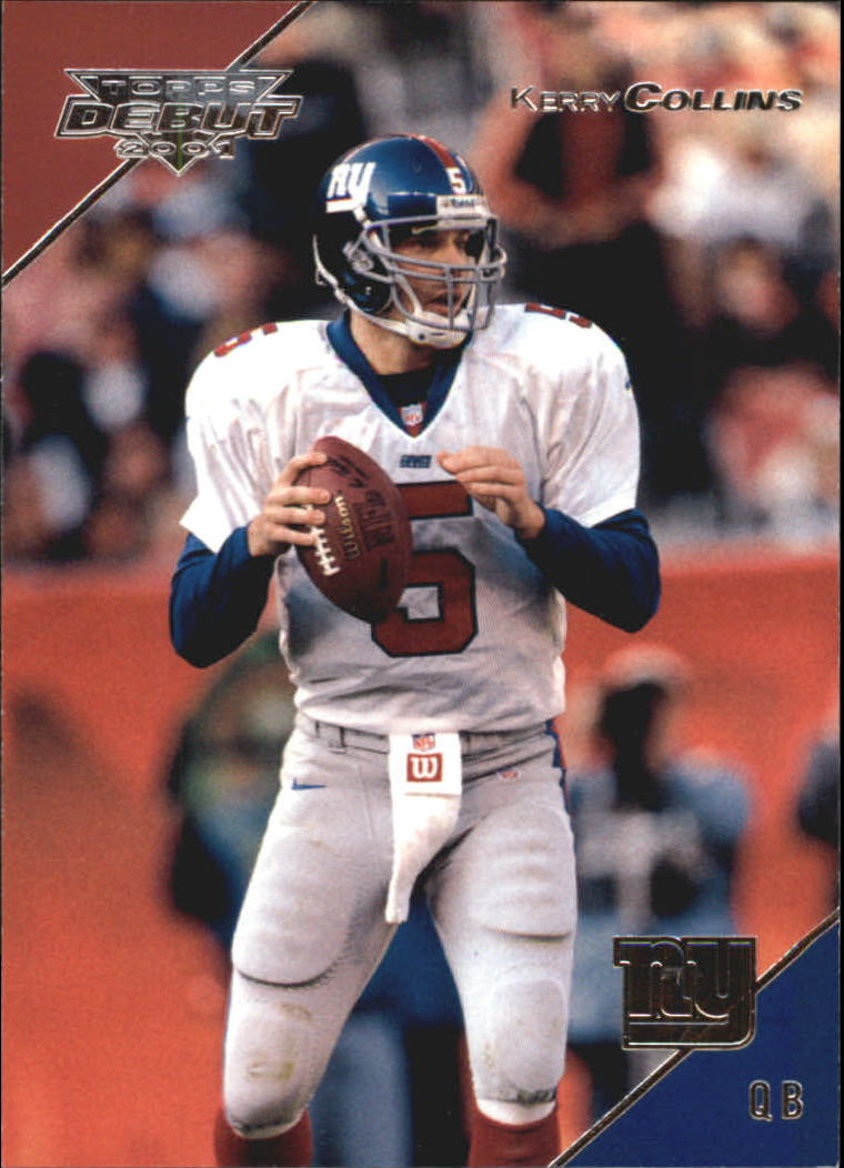 2001 Topps Debut #94 Kerry Collins