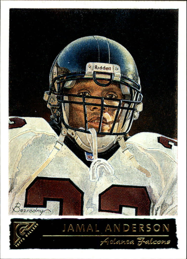 2001 Topps Gallery #2 Jamal Anderson