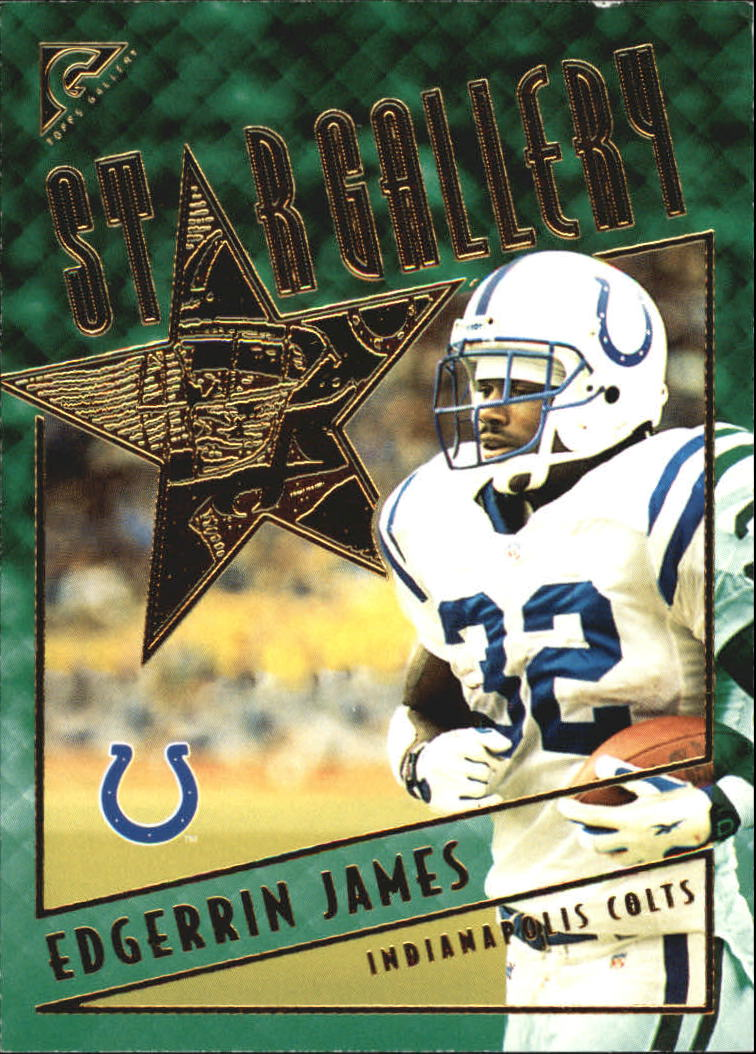 2001 Topps Gallery Star Gallery #SG4 Edgerrin James