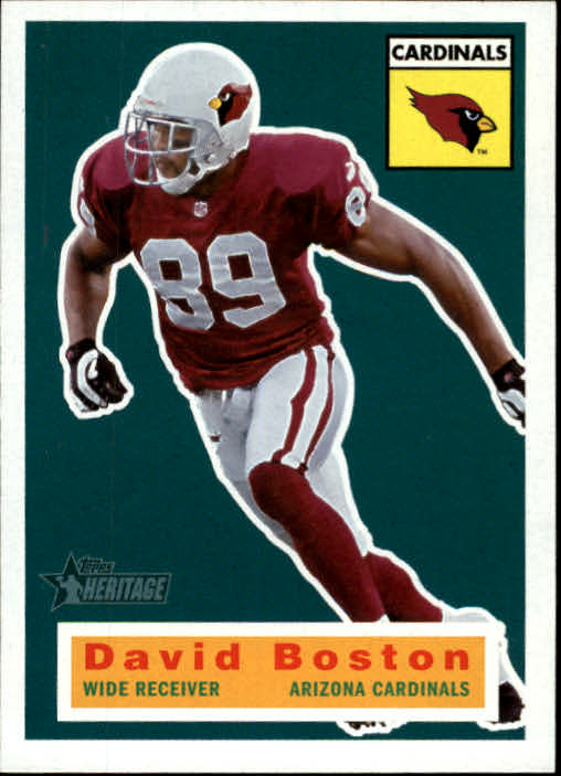 2001 Topps Heritage #8 David Boston