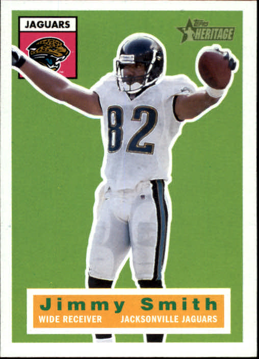 2001 Topps Heritage #9 Jimmy Smith