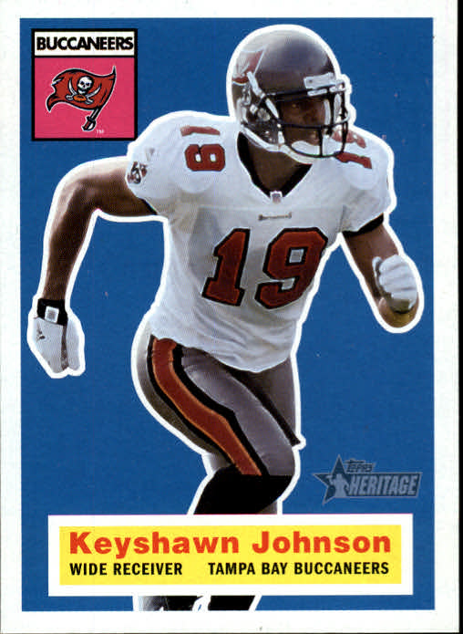 2001 Topps Heritage #18 Keyshawn Johnson