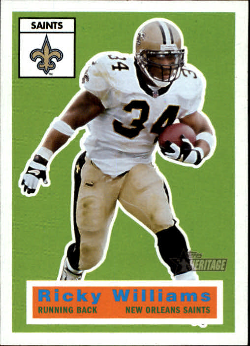2001 Topps Heritage #28 Ricky Williams