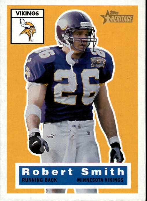 2001 Topps Heritage #41 Robert Smith