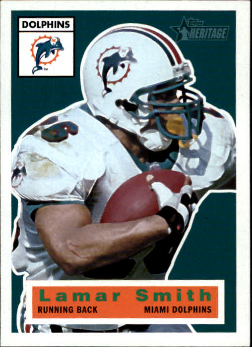 2001 Topps Heritage #44 Lamar Smith