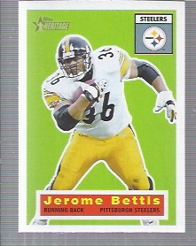 2001 Topps Heritage #59 Jerome Bettis