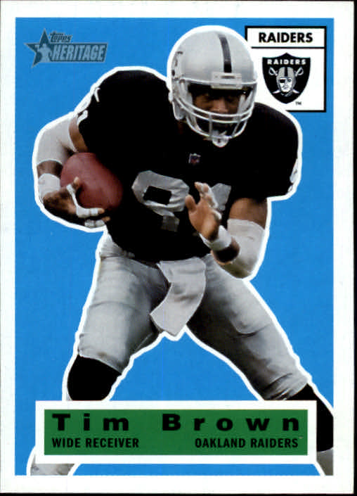 2001 Topps Heritage #65 Tim Brown