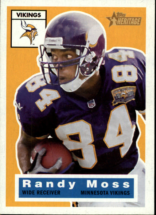 2001 Topps Heritage #70 Randy Moss