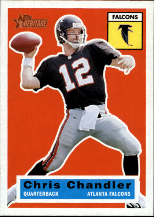 2001 Topps Heritage #92 Chris Chandler