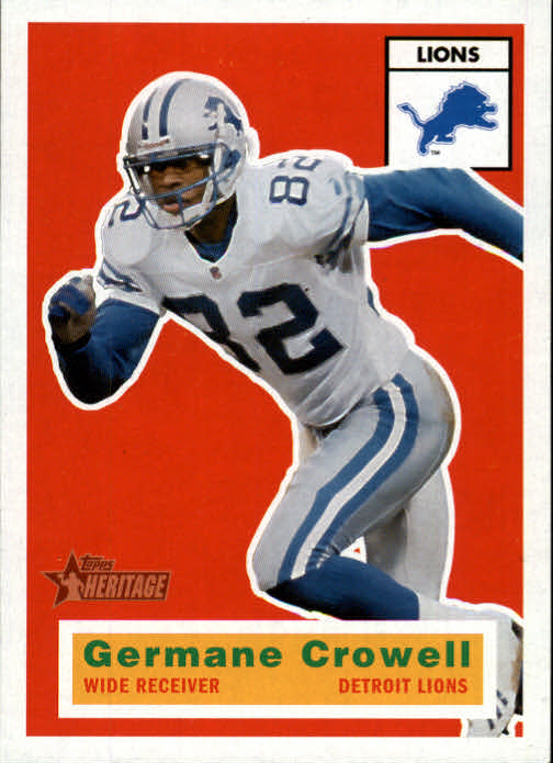 2001 Topps Heritage #105 Germane Crowell