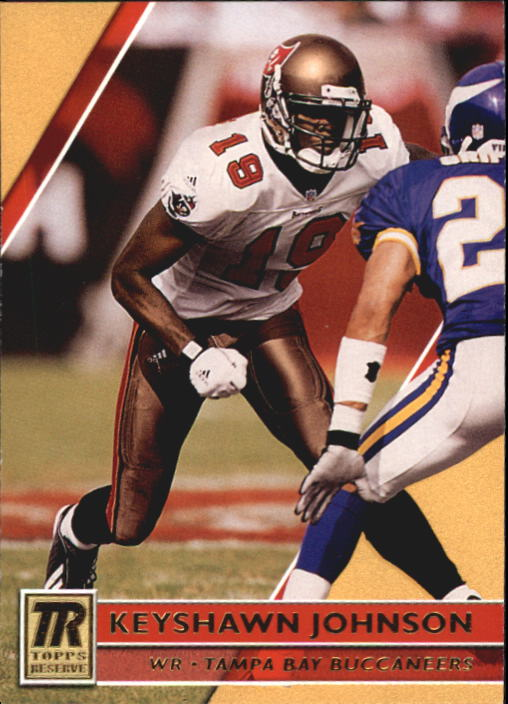 2001 Topps Reserve #48 Keyshawn Johnson