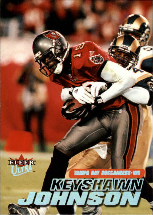 2001 Ultra #129 Keyshawn Johnson