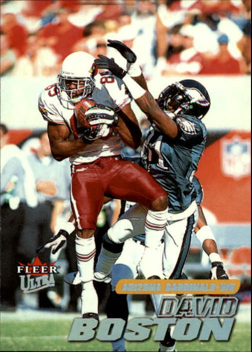 2001 Ultra #154 David Boston